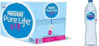 Nestlé Pure Life Water, Carton of 12 bottles x 1.5L