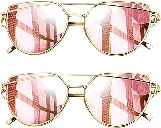 Joopin Gafas de Sol Polarizadas Mujer Ojos de Gato de Moda Cateye de Gran Tamaño