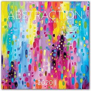 Orange Circle Studio 2020 Wall Calendar, Abstraction