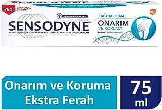Sensodyne Onarım ve Koruma Ekstra Ferah Diş Macunu 75ml 1 Paket (1 x 120 g)