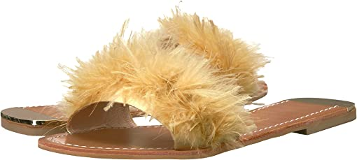 Yellow Marabou Feather