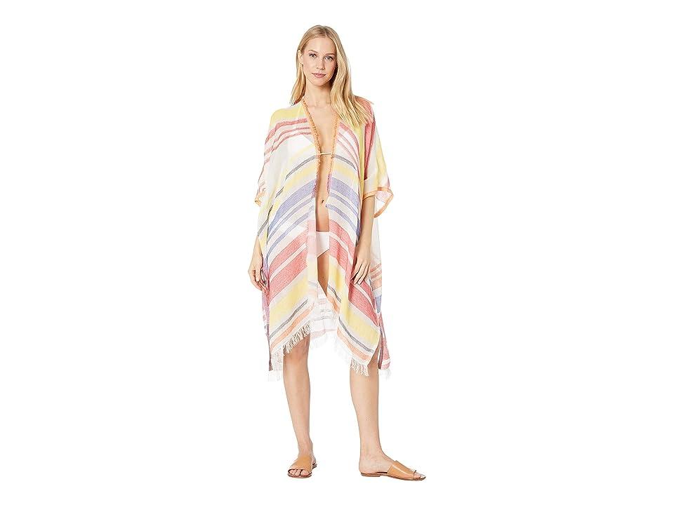 Echo Design Diagonal Stripe Cardigan (Multi) Women