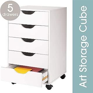 5 Drawer Letterpress Cube by Ashland