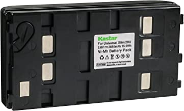 Kastar 2650mA, 6V Replacement NiMH Battery for JVC BN-V11U BN-V20U BN-V25U, Panasonic HHR-V20A HHR-V40A VW-VBS1 VW-VBS2 and Sony NP-55H NP-77H NP-98 Batteries
