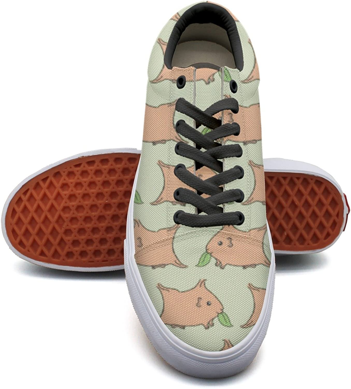 Guinea Pigs Eating Grass Women's Casual shoes Slip-On Lo-Top Fashion Simple