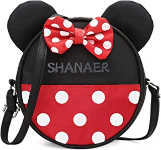 Kids Cute Minnie Backpack Funny Cartoon Style Nylon Kindergarten Schoolbag Children Travel Outing Shoulder Bag