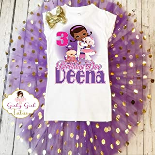Doc Mcstuffins Birthday Tutu Outfit Set Personalized