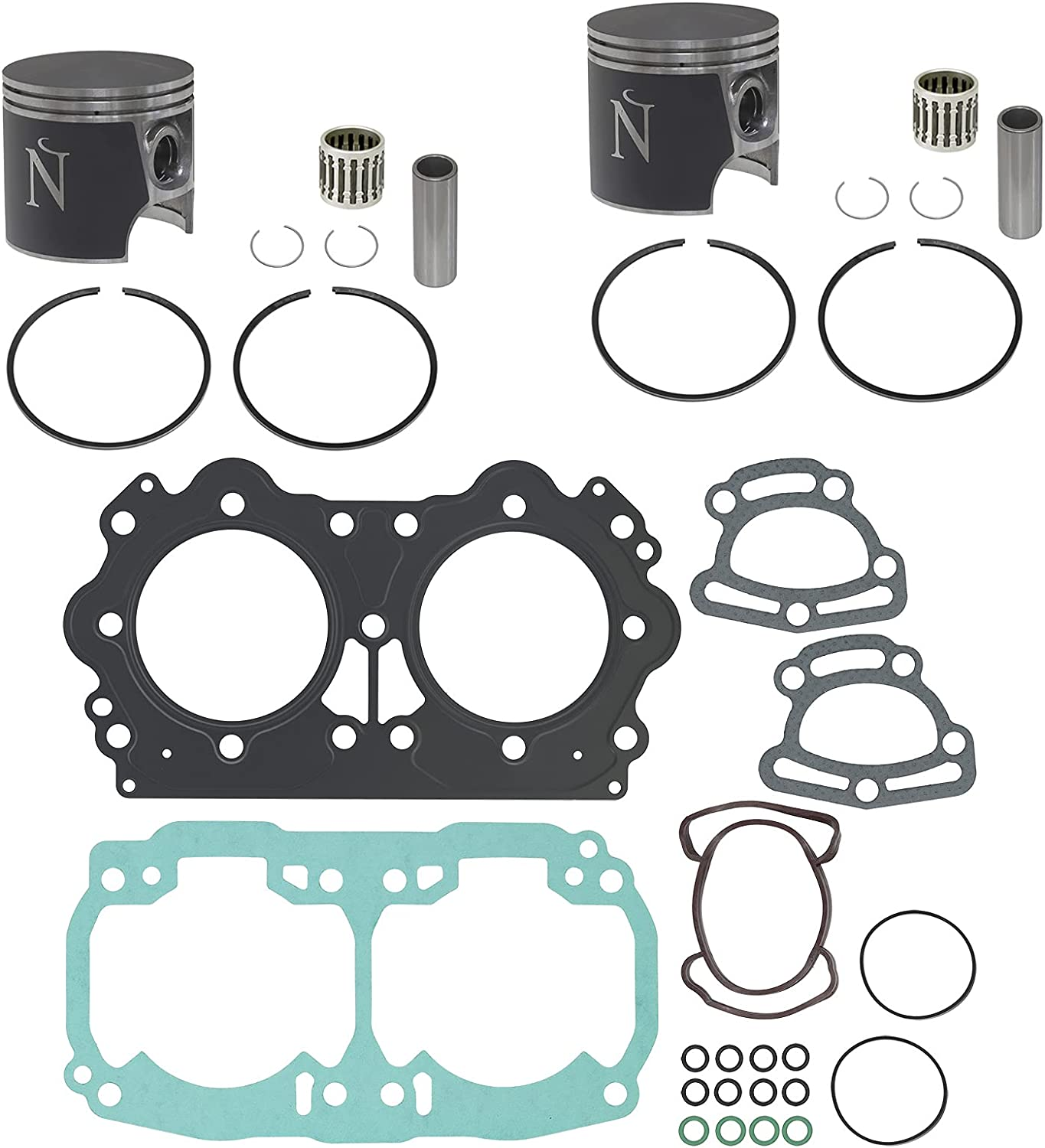 Namura NW-10006K1 Top End High quality new Repair Kit fits Sea-Doo for Max 72% OFF 2001-200