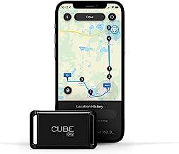 Cubo GPS Tracker, seguimiento en tiempo real de coches, perros, mascotas, niños, motocicletas, pequeño dispositivo de seguimiento portátil, suscripción mensual requerida