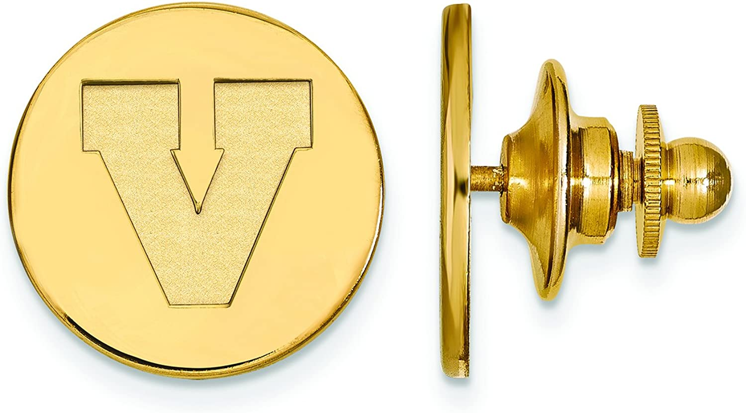 Virginia Lapel free shipping Popular product Pin Gold Plated