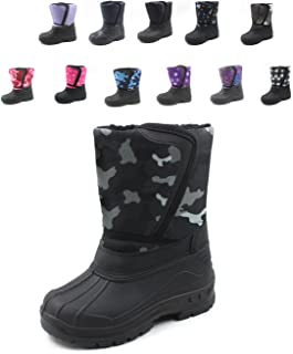 SkaDoo Cold Weather Snow Boot 1319 Gray Camo Size Toddler 6