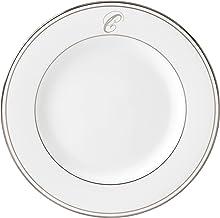 طبق سلطة لينوكس فيدرال بلاتينيوم سكريبت مونوجرام في أواني الطعام