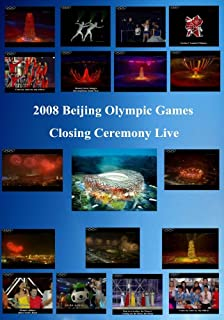 2008 Beijing Olympic Games Closing Ceremony Live