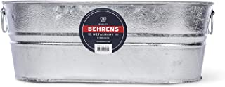Behrens 0-OV 5-1/2-Gallon Oval Steel Tub