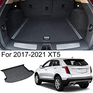 kaungka Cargo Liner Rear Cargo Tray Trunk Floor Mat Waterproof Protector for 2017-2020 Cadillac XT5