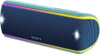 ソニー SONY ワイヤレスポータブルスピーカー SRS-XB31 : 防水・防塵・防錆/Bluetooth/専用スマホアプリ対応 ライティング機能搭載 2018年モデル ツートーンブルー SRS-XB31 L