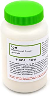 Laboratory-Grade Bacteriological Agar Powder, 100g - The Curated Chemical Collection