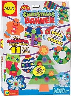 ALEX Toys Craft It's A Christmas Banner Decoration Kit
