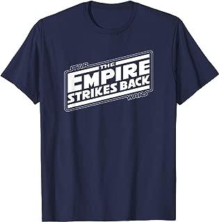 The Empire Strikes Back Angled Movie Logo T-Shirt