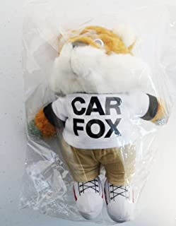 """Show Me the Carfax"" Car Fox Plush - 9 Inches"