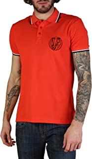 Versace Jeans Men Red Polo