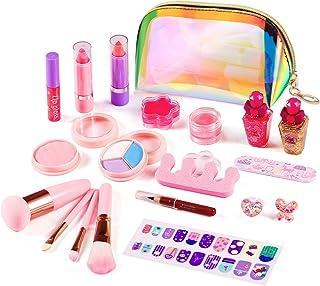 ARANEE 21PCS Juego de Maquillaje para niños para niñas, Ki