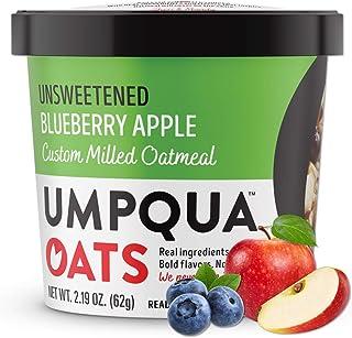 Umpqua Oats | All Natural, Premium Oatmeal Cups | No Mush, Custom Milled | Non-GMO (8 count) (Unsweetened B...