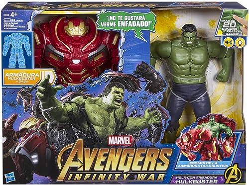 servicio de primera clase Marvel Marvel Marvel Avengers- Hulk Armadura Hulkbuster (Hasbro E0568105)  minorista de fitness