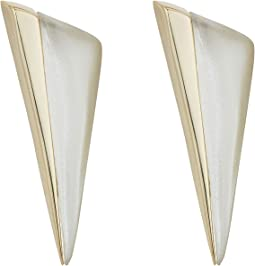 Alexis Bittar - Angled Pyramid Post Earrings