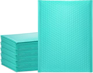 UCGOU 10.5x16 Inch Teal Bubble Mailer Self Seal Poly Padded Envelopes Waterproof and Tear-Proof Mailing Shipping Bags Pack...