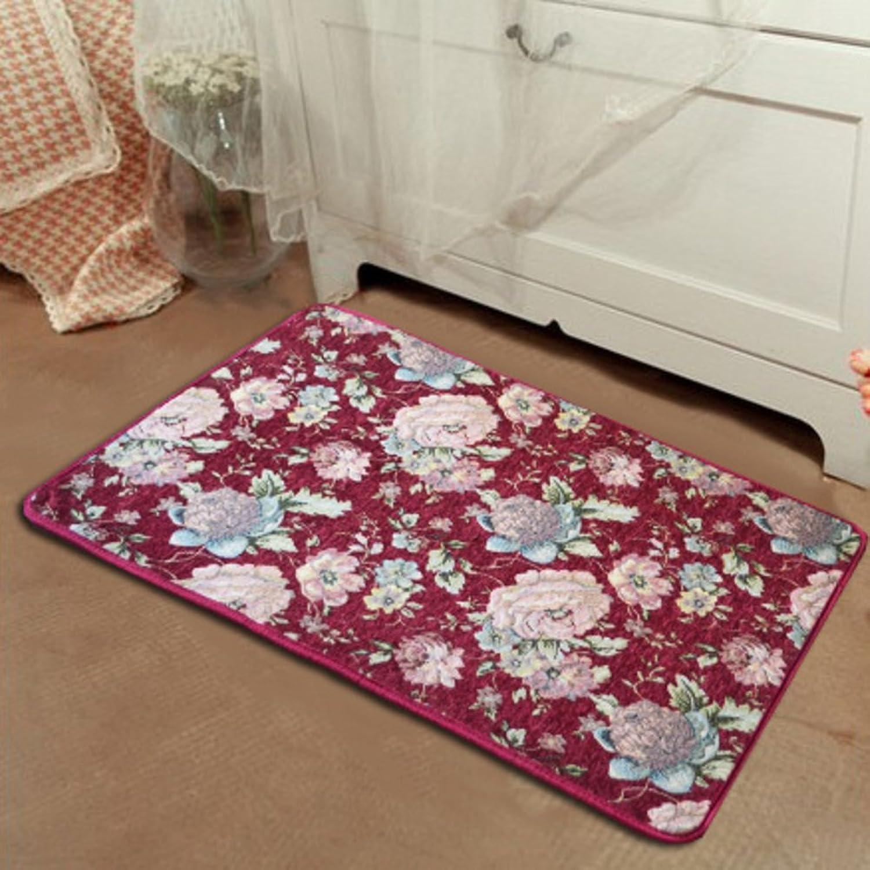 Entrance mats doormat bathroom Kitchen floor mats Living room mat Bedroom door mat at the door-H 80x120cm(31x47inch)