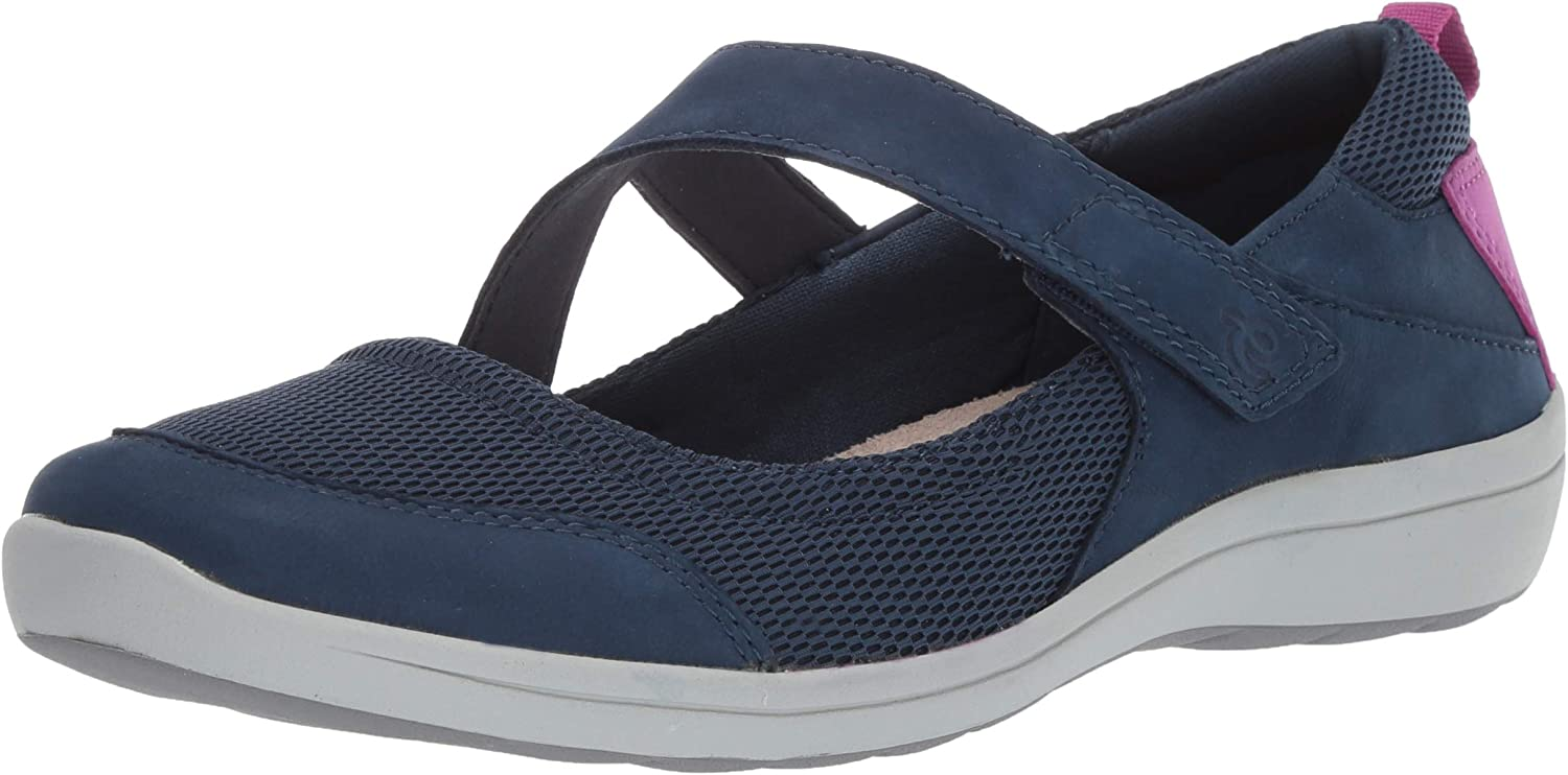 Easy Spirit Womens Luna Mary Jane Flat