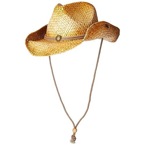 519bf2367 Men's Straw Cowboy Hats: Amazon.com