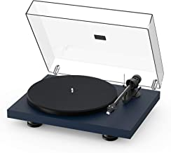 Pro-Ject Debut Carbon EVO, Audiophile Turntable with Carbon Fiber tonearm, Electronic Speed Selection and pre-Mounted Sumi...