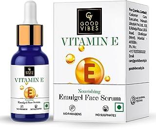 Good Vibes Vitamin E Nourishing Emulgel Serum (10 ml)
