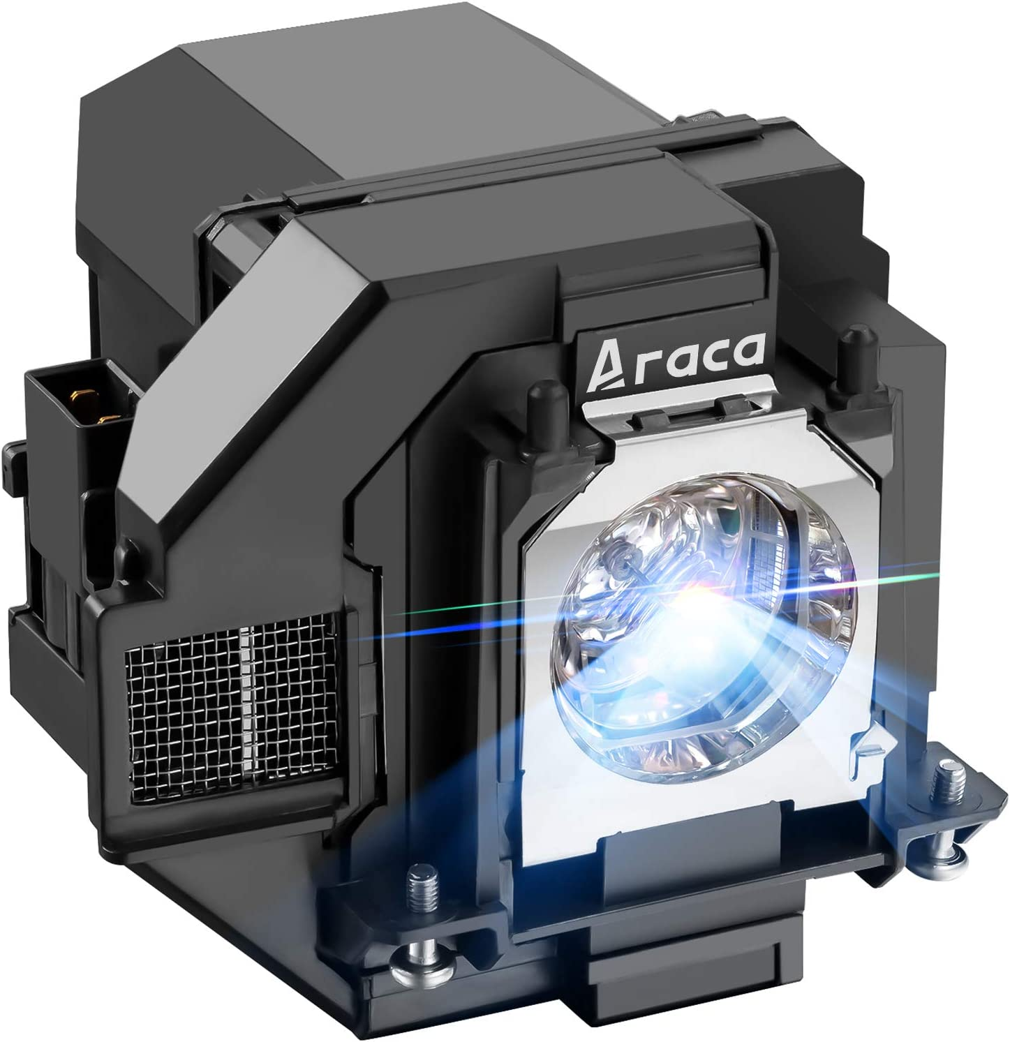 Araca ELPLP96 /V13H010L96 Replacement Projector Lamp for Epson VS250 VS355 EX5260 VS350 EB-S41 EH-TW650 TW610 TW5650 TW5600 X05 S05 U05 2042 2247U 2142W W05 990U U42 with Housing (New A+ Version)
