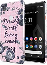 Glitbit Compatible with Google Pixel 2 XL Case Nothing Worth Having Comes Easy Motivational Sucess Work Hustle Hard Grind Phrase Thin Design Durable Hard Shell Plastic Protective Case Cover