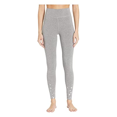 P.J. Salvage Foil star french terry pant (Heather Grey) Women