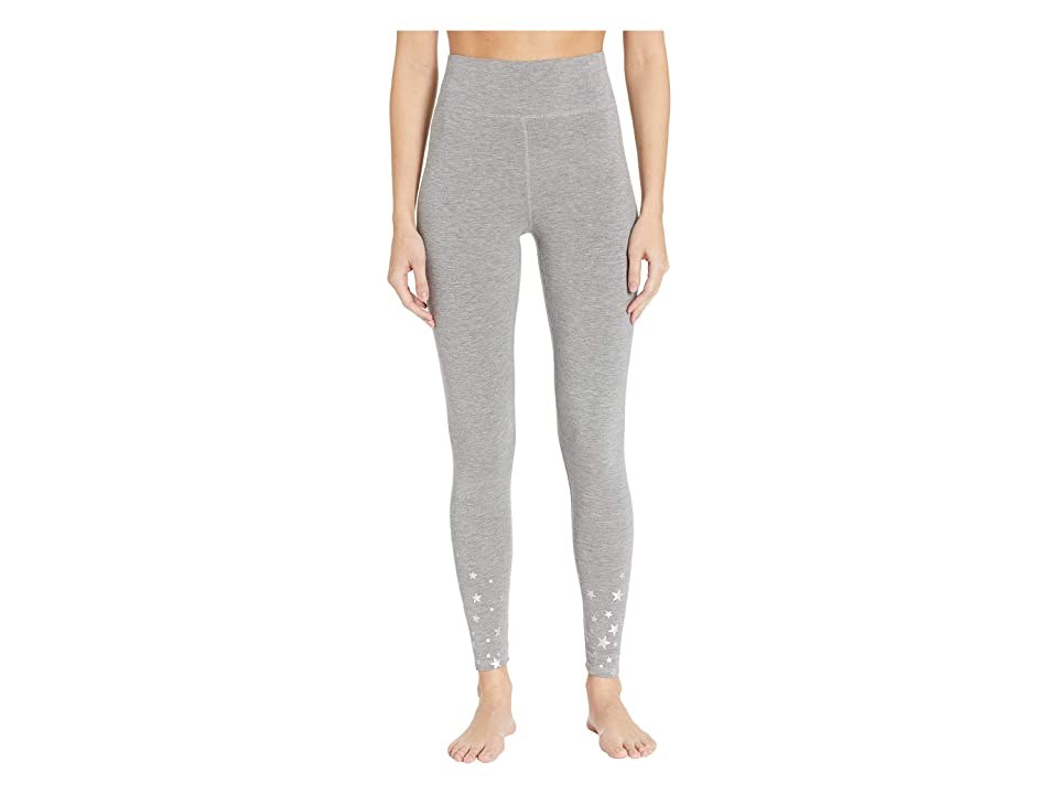 P.J. Salvage Oh Holiday Star Pants (Heather Grey) Women