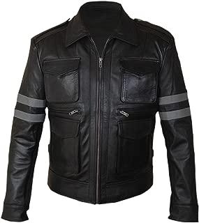 F&H Kid's Resident Evil Geinuine Leather Leon Kennedy Jacket