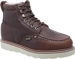 AdTec Men's 9238 Ankle Boot, brown, 8 Wide US