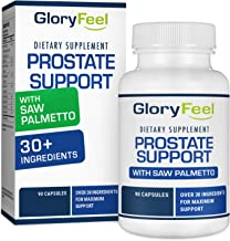 Prostate Support Supplement with Saw Palmetto for Men - 90 Capsules to Reduce Frequent Urination, Remedy Hair Loss, with 30+ Ingredients - Prostate Healt Supplements