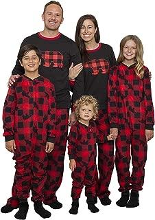 Matching Set Family Christmas Holiday Pajamas + Slipper...