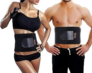 اصلاح کننده کمر Sportneer ، کمربند قابل تنظیم کمربند نئوپرن قابل تنظیم برای پشتیبانی پشت ، عرق انداختن کمر ، تقویت کننده عرق ، لاغر کننده بدن ، پشتیبانی از معده و کمر پشت ، تا 41 اینچ ، اندازه M