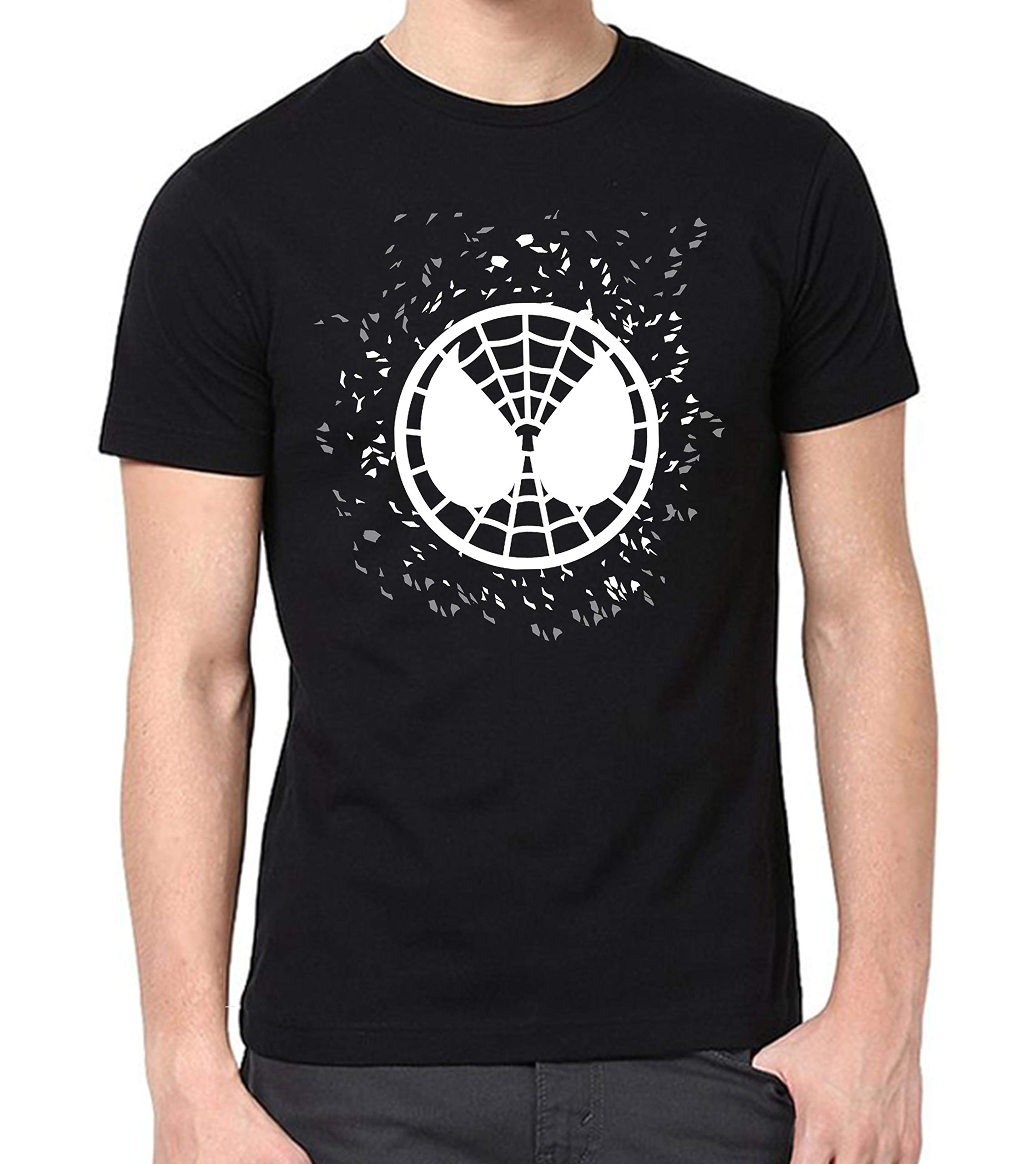 Spiderman Funny Mens Graphic T Shirts Buy Online In India At Desertcart