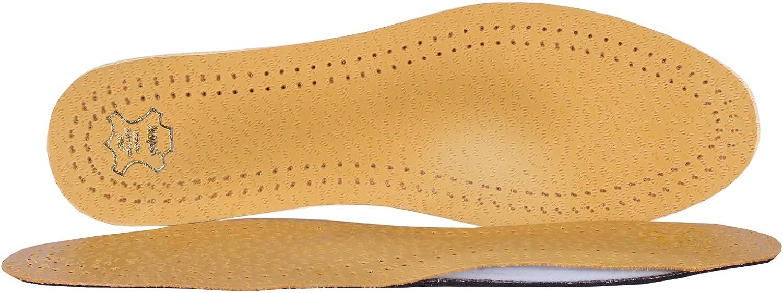Kaps Plantillas de cuero ortopédico para el dolor en el antepié de Metatarsalgia, inserciones ortopédicas de calzado de longitud completa para hombres y mujeres, Master, todos los tamaños
