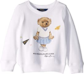 9b473c83b Polo Ralph Lauren Kids Cricket Bear Cotton Tee (Toddler) at Zappos.com