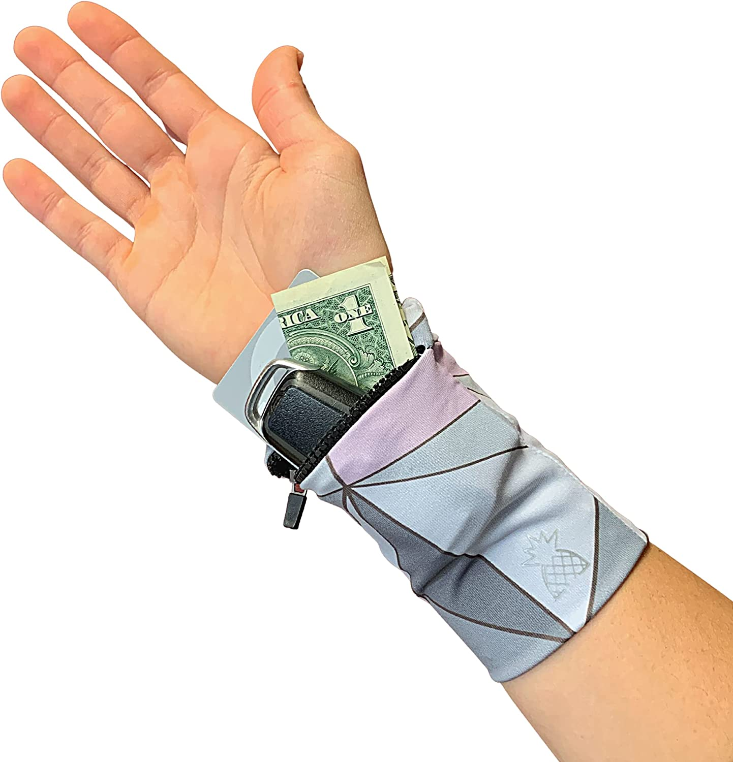 Easy-to-use Premium Wrist Locker - Wallet with Band famous for Zipper Storage