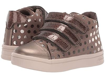 Geox Kids Jr Djrock 36 (Toddler) (Smoke Grey) Girls Shoes