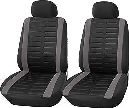 Farbe : Beige DaFei Autositzbez/üge 5-Sitzer-Komplettsatz Universal-kompatible Airbags vorne und hinten atmungsaktiv hochwertiges Leder Comfort Protector Cushion